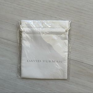 NWT David Yurman drawstring dust bag